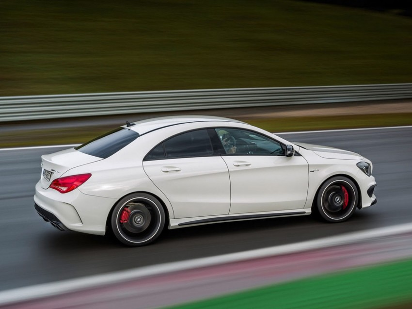 Mercedes-Benz CLA 45 AMG leaked ahead of NY debut Image #162620