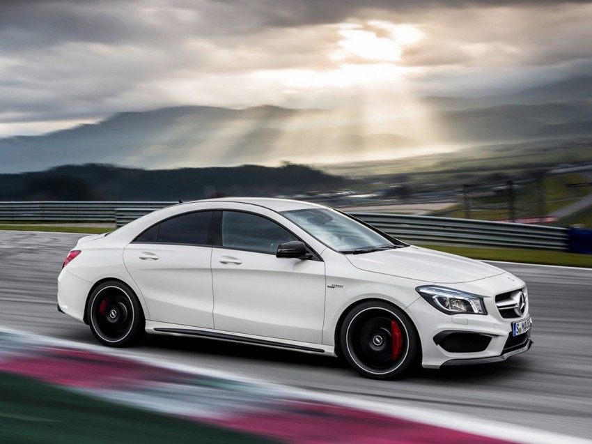 Mercedes-Benz CLA 45 AMG leaked ahead of NY debut Image #162621