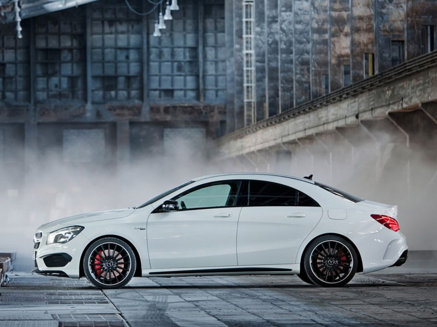 Mercedes-Benz CLA 45 AMG leaked ahead of NY debut Image #162622