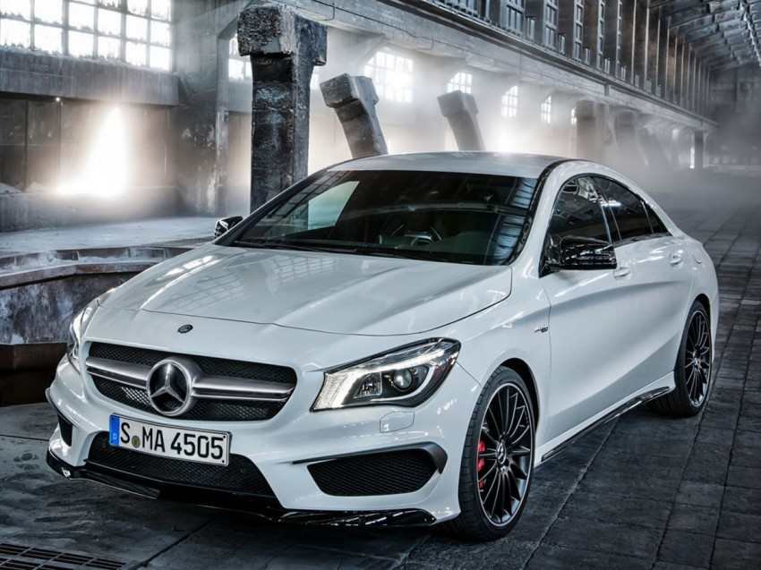 Mercedes-Benz CLA 45 AMG leaked ahead of NY debut Image #162624