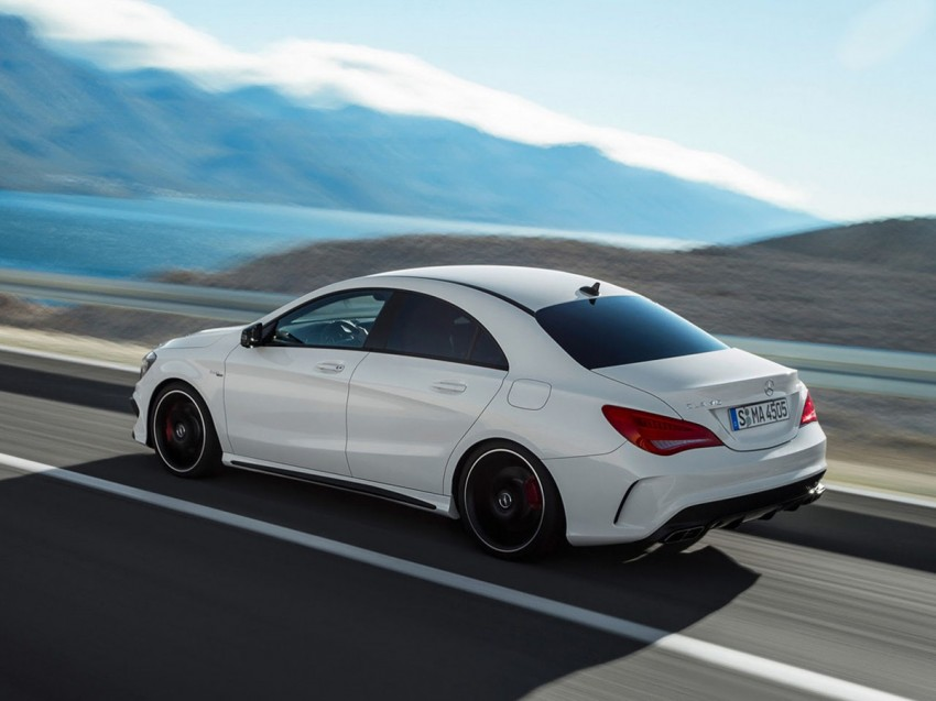 Mercedes-Benz CLA 45 AMG leaked ahead of NY debut Image #162625