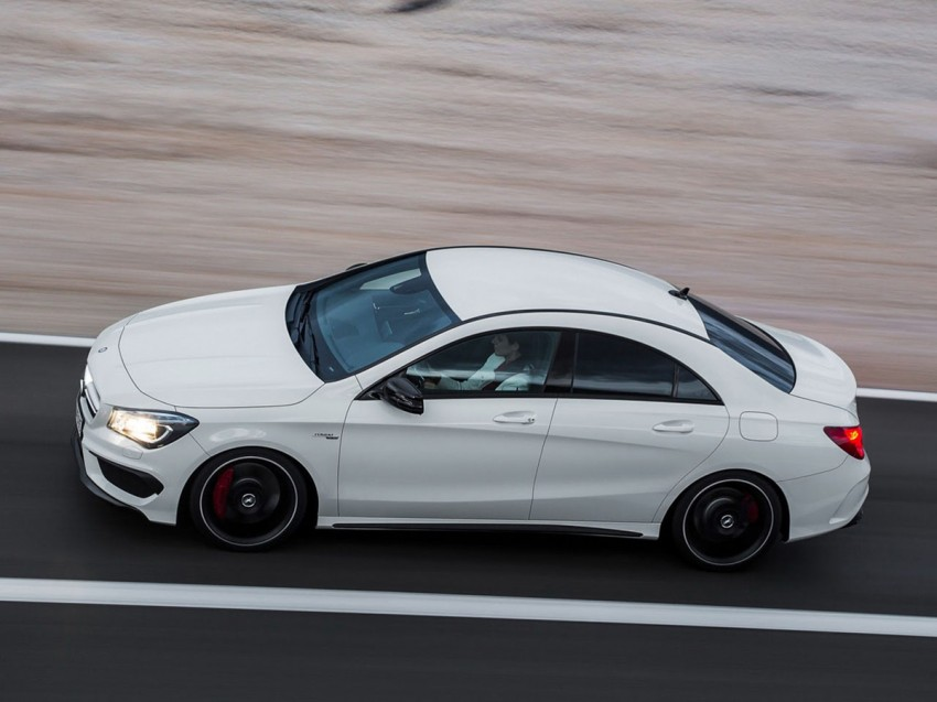 Mercedes-Benz CLA 45 AMG leaked ahead of NY debut Image #162626