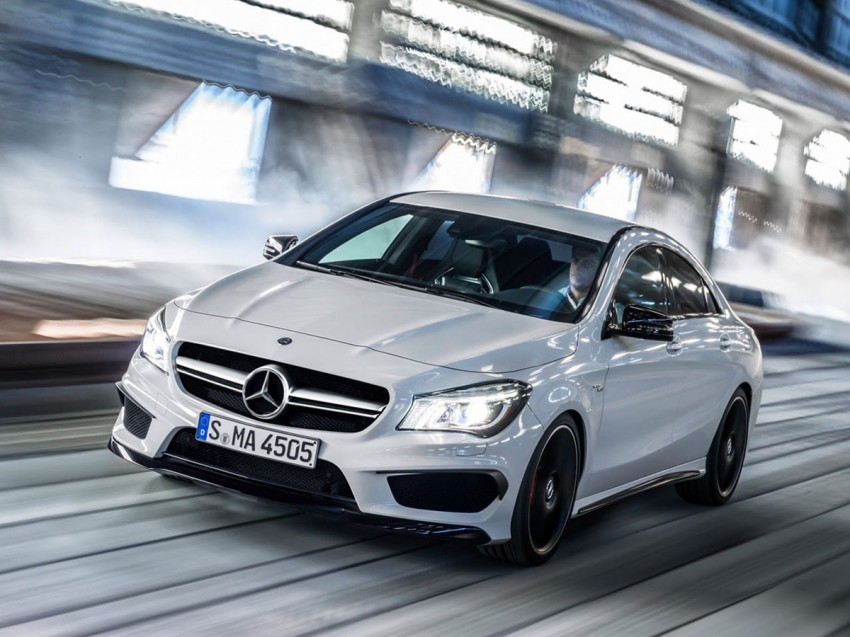Mercedes-Benz CLA 45 AMG leaked ahead of NY debut Image #162627