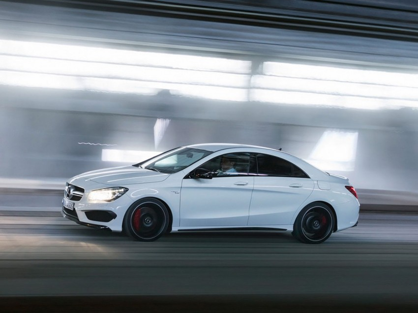 Mercedes-Benz CLA 45 AMG leaked ahead of NY debut Image #162628