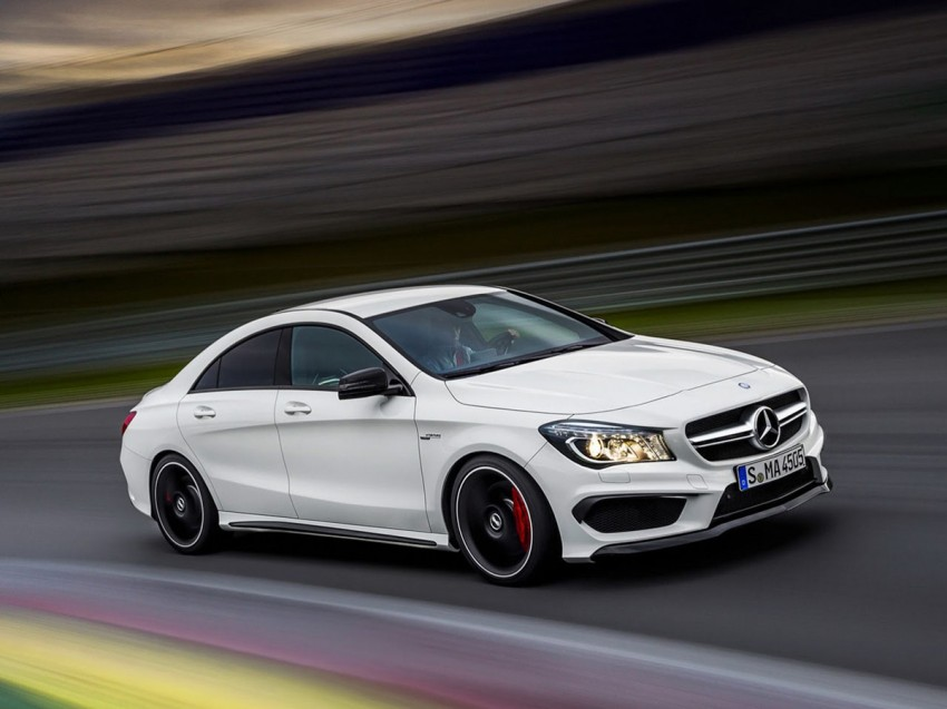Mercedes-Benz CLA 45 AMG leaked ahead of NY debut Image #162629