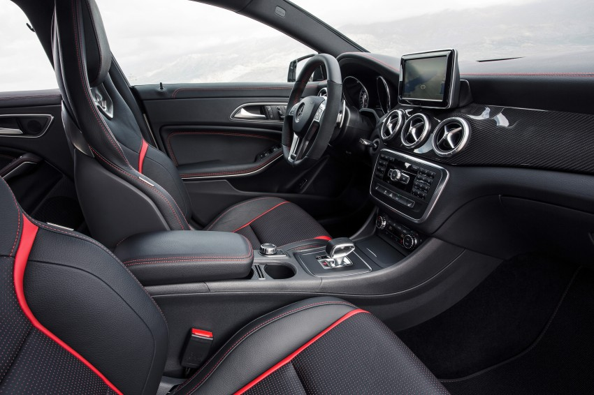 Mercedes-Benz CLA 45 AMG officially unveiled in NY Image #164705