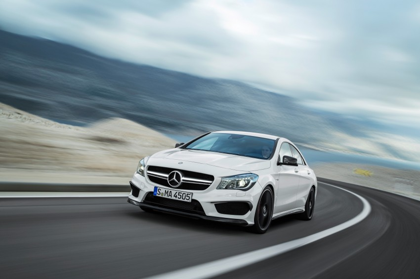 Mercedes-Benz CLA 45 AMG officially unveiled in NY Image #164706