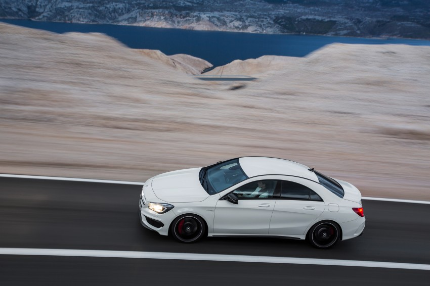 Mercedes-Benz CLA 45 AMG officially unveiled in NY Image #164707