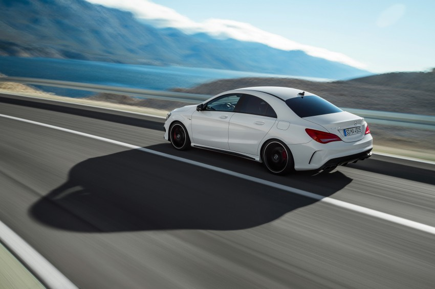 Mercedes-Benz CLA 45 AMG officially unveiled in NY Image #164708