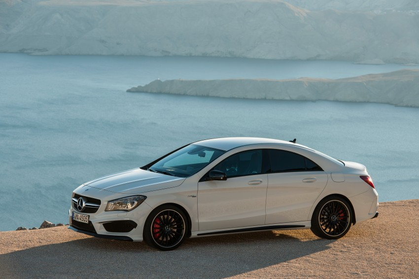 Mercedes-Benz CLA 45 AMG officially unveiled in NY Image #164709