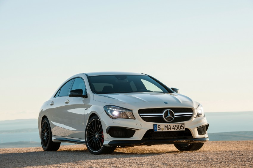 Mercedes-Benz CLA 45 AMG officially unveiled in NY Image #164710