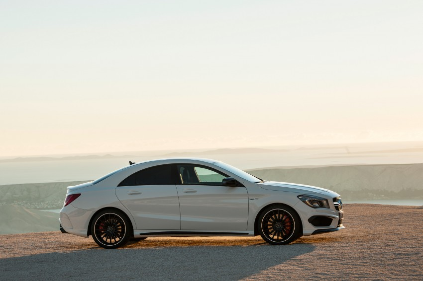 Mercedes-Benz CLA 45 AMG officially unveiled in NY Image #164712