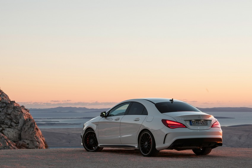 Mercedes-Benz CLA 45 AMG officially unveiled in NY Image #164713