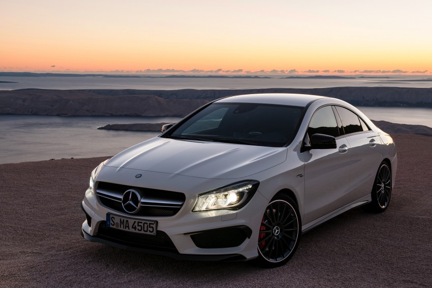 Mercedes-Benz CLA 45 AMG officially unveiled in NY Image #164714