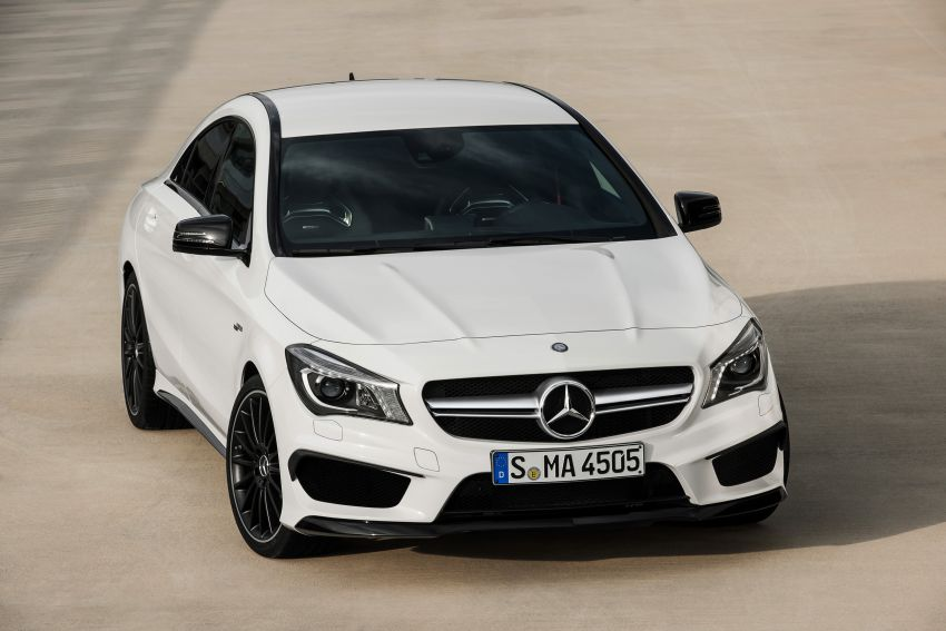 Mercedes-Benz CLA 45 AMG officially unveiled in NY Image #164715