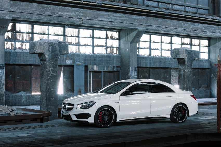 Mercedes-Benz CLA 45 AMG officially unveiled in NY Image #164717