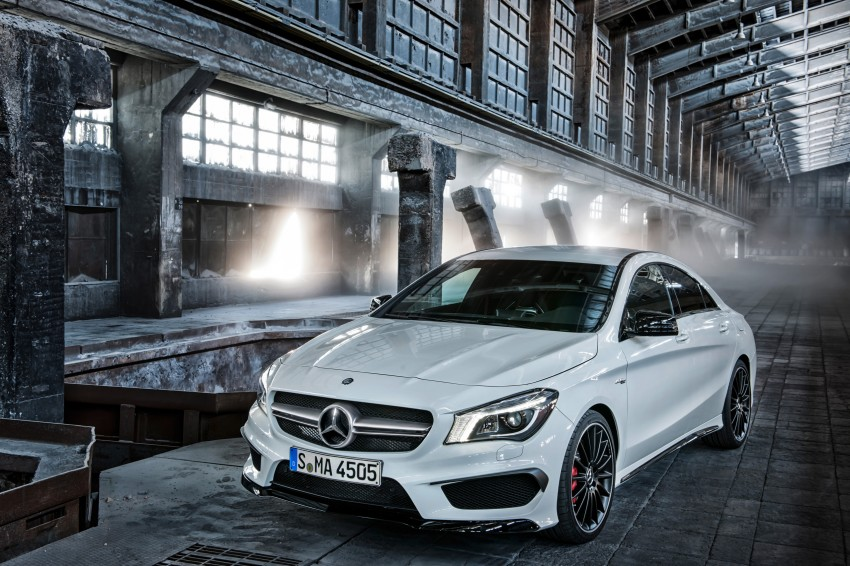 Mercedes-Benz CLA 45 AMG officially unveiled in NY Image #164718