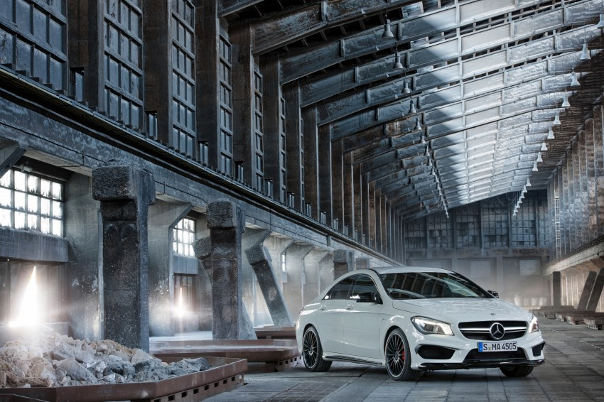 Mercedes-Benz CLA 45 AMG officially unveiled in NY Image #164719