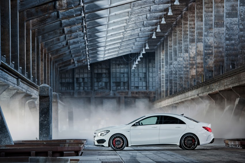 Mercedes-Benz CLA 45 AMG officially unveiled in NY Image #164720