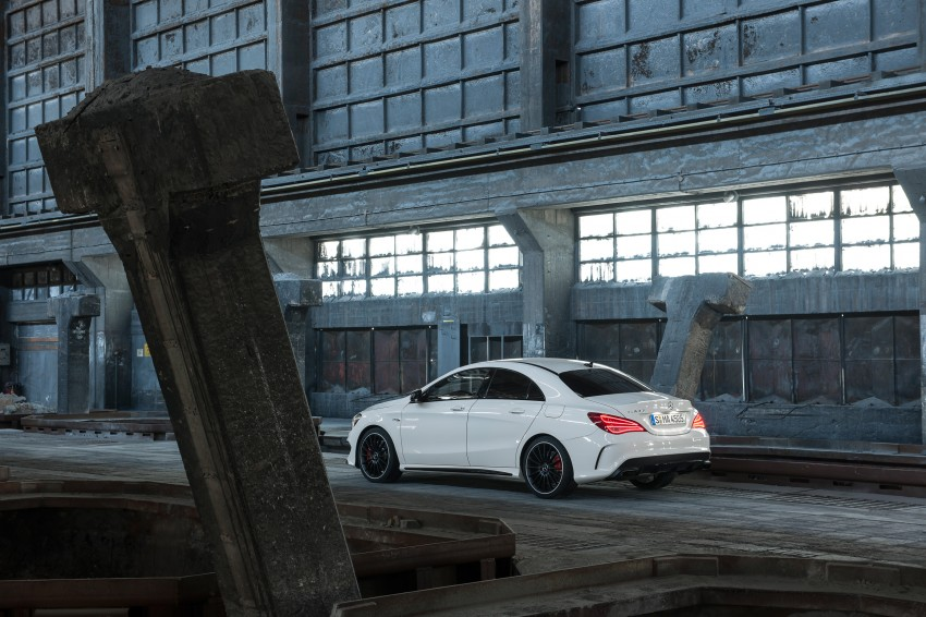 Mercedes-Benz CLA 45 AMG officially unveiled in NY Image #164721