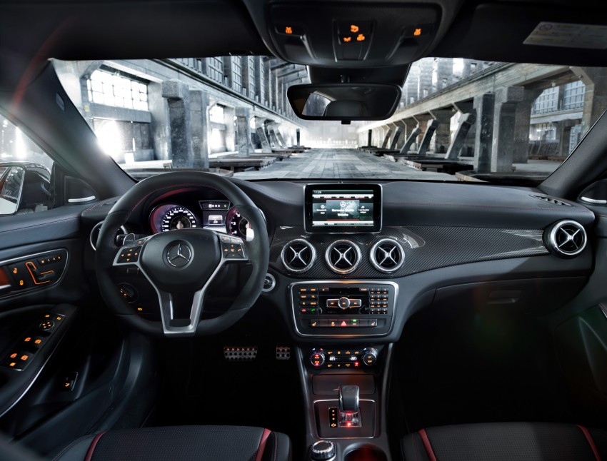 Mercedes-Benz CLA 45 AMG officially unveiled in NY Image #164722