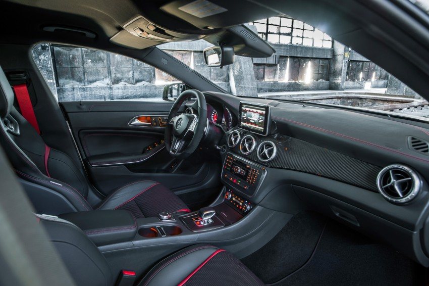 Mercedes-Benz CLA 45 AMG officially unveiled in NY Image #164723