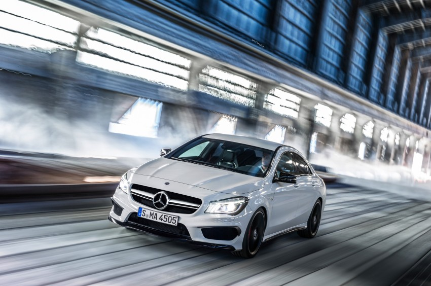 Mercedes-Benz CLA 45 AMG officially unveiled in NY Image #164725