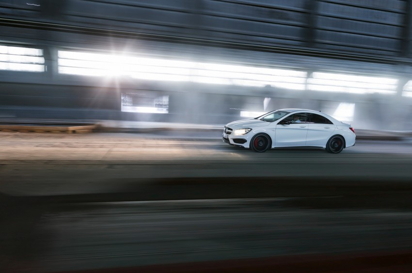 Mercedes-Benz CLA 45 AMG officially unveiled in NY Image #164726