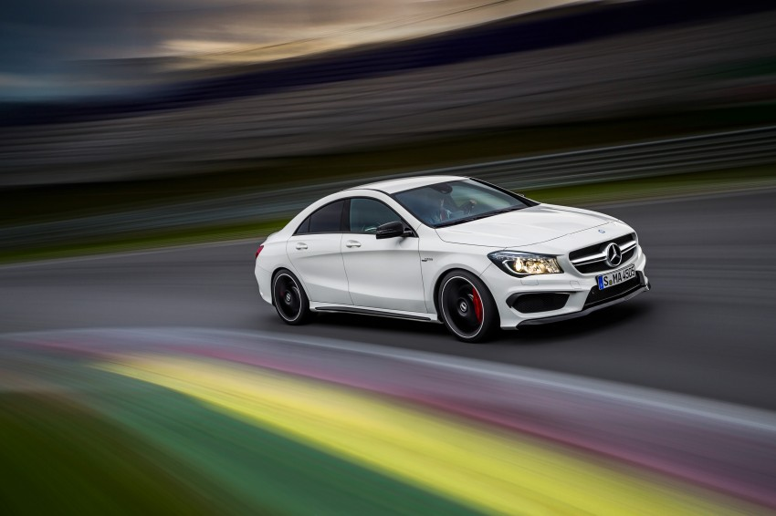 Mercedes-Benz CLA 45 AMG officially unveiled in NY Image #164727