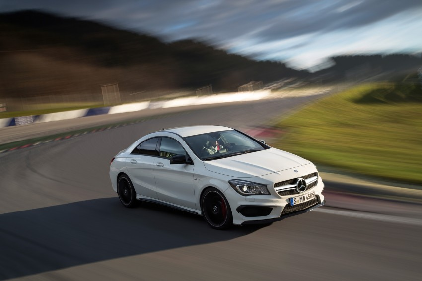 Mercedes-Benz CLA 45 AMG officially unveiled in NY Image #164728