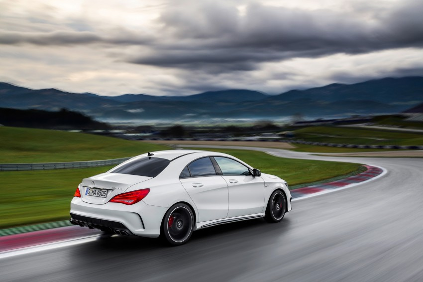 Mercedes-Benz CLA 45 AMG officially unveiled in NY Image #164730