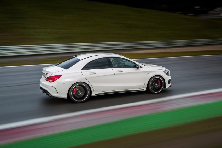 Mercedes-Benz CLA 45 AMG officially unveiled in NY Image #164731