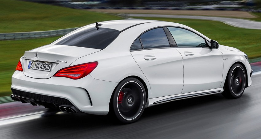 Mercedes-Benz CLA 45 AMG officially unveiled in NY Image #164732
