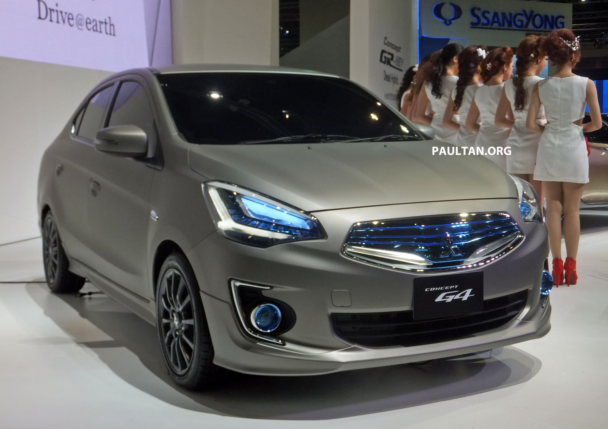 Mitsubishi Concept G4 previews Mirage sedan