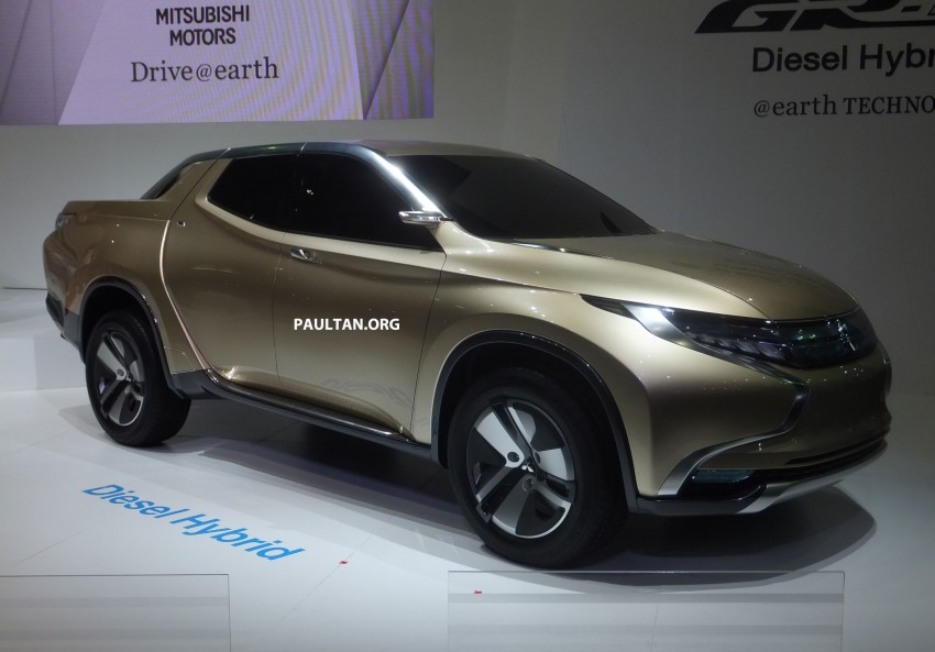 Mitsubishi GR-HEV Concept hints at next Triton Image #163934
