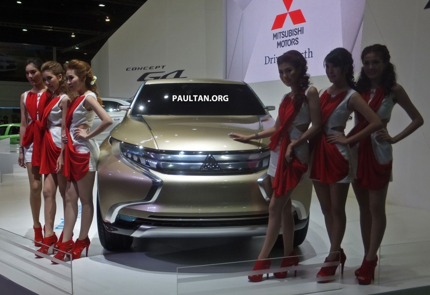 Mitsubishi GR-HEV Concept hints at next Triton Image #163940