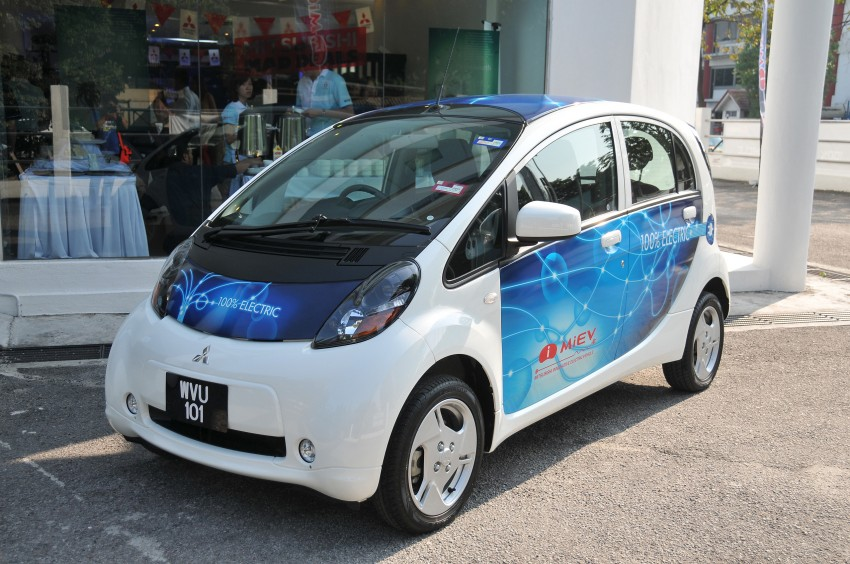 Mitsubishi i-MiEV launched in Malaysia for RM136k – the first all-electric vehicle to be sold in this country Image #162917