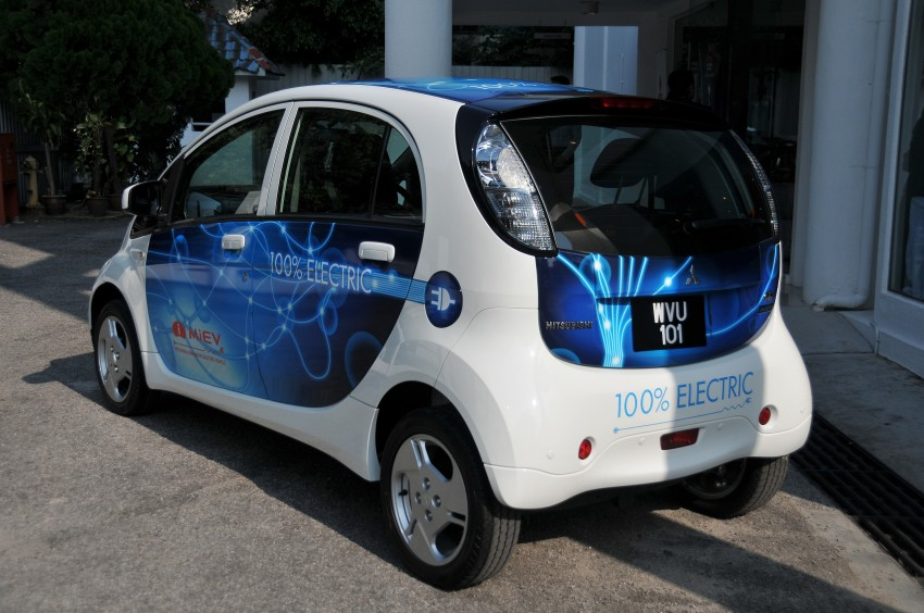 Mitsubishi i-MiEV launched in Malaysia for RM136k – the first all-electric vehicle to be sold in this country Image #162918