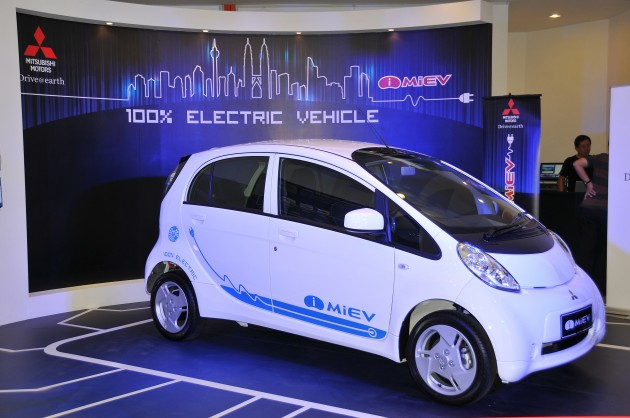 Mitsubishi I Miev Now On Sale In Malaysia For