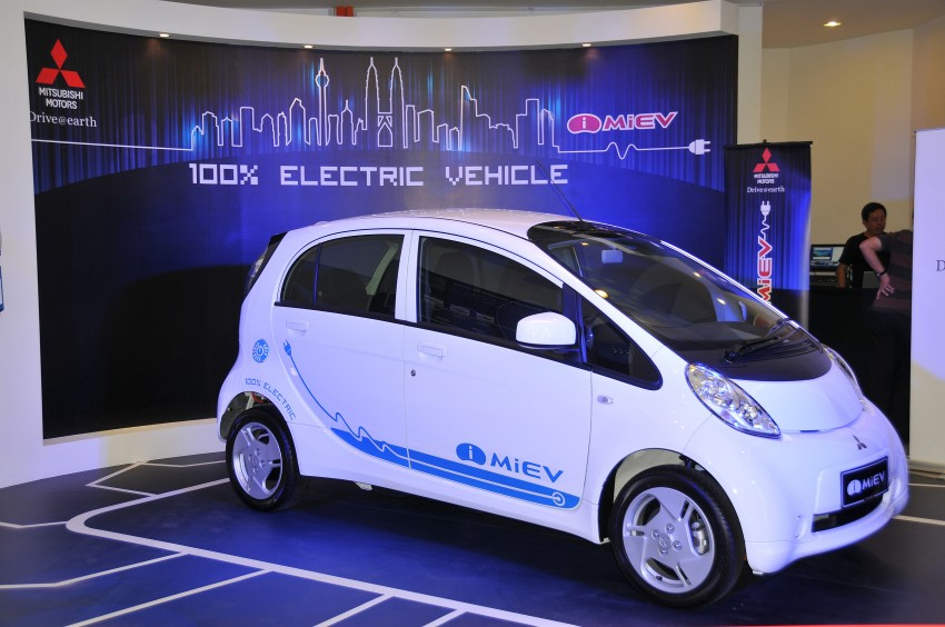Mitsubishi i-MiEV launched in Malaysia for RM136k – the first all-electric vehicle to be sold in this country Image #162923