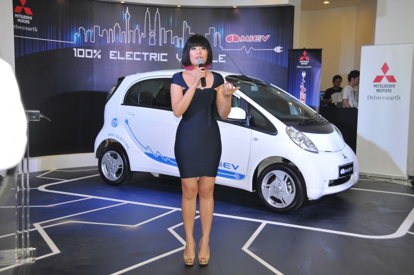 Mitsubishi i-MiEV launched in Malaysia for RM136k – the first all-electric vehicle to be sold in this country Image #162929