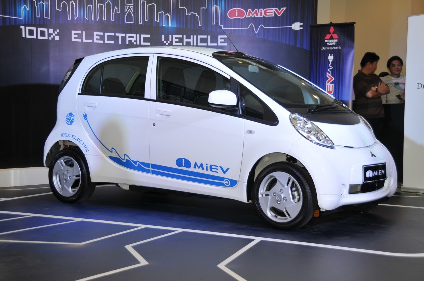Mitsubishi i-MiEV launched in Malaysia for RM136k – the first all-electric vehicle to be sold in this country Image #162931