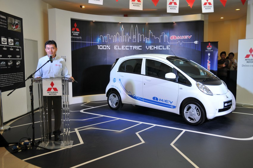 Mitsubishi i-MiEV launched in Malaysia for RM136k – the first all-electric vehicle to be sold in this country Image #162932