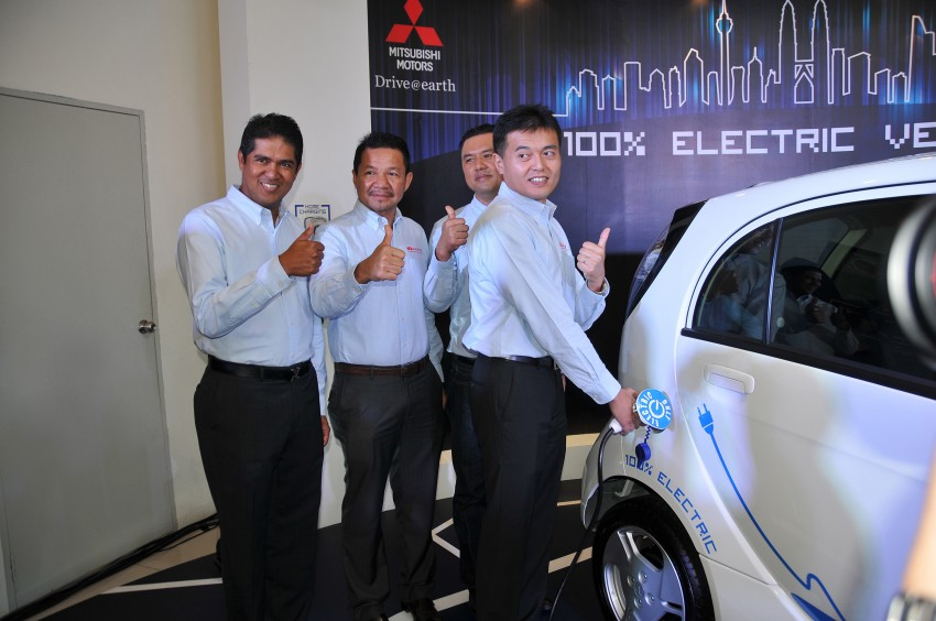 Mitsubishi i-MiEV launched in Malaysia for RM136k – the first all-electric vehicle to be sold in this country Image #162933