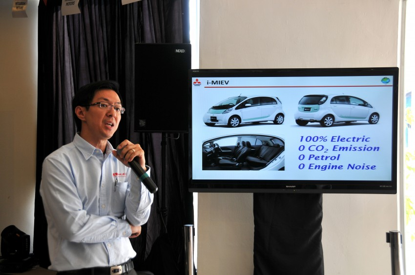 Mitsubishi i-MiEV launched in Malaysia for RM136k – the first all-electric vehicle to be sold in this country Image #162935
