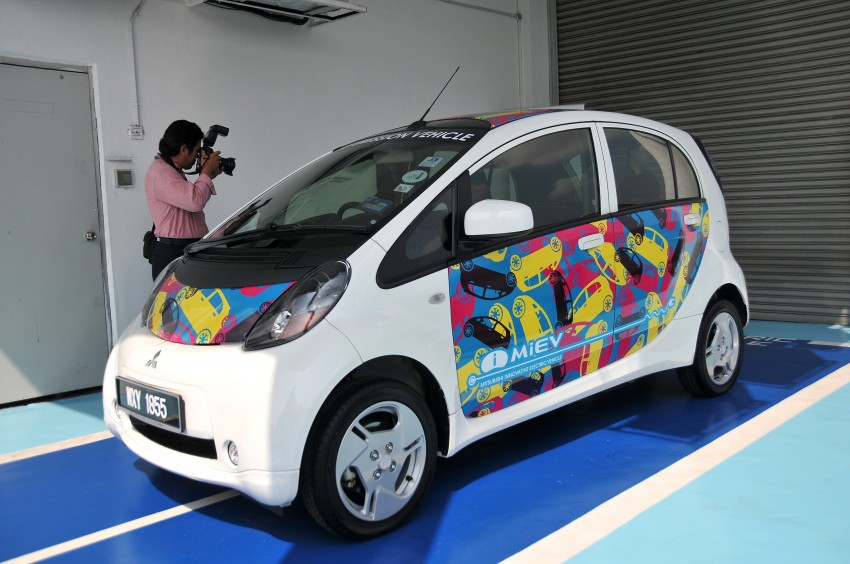 Mitsubishi i-MiEV launched in Malaysia for RM136k – the first all-electric vehicle to be sold in this country Image #162945