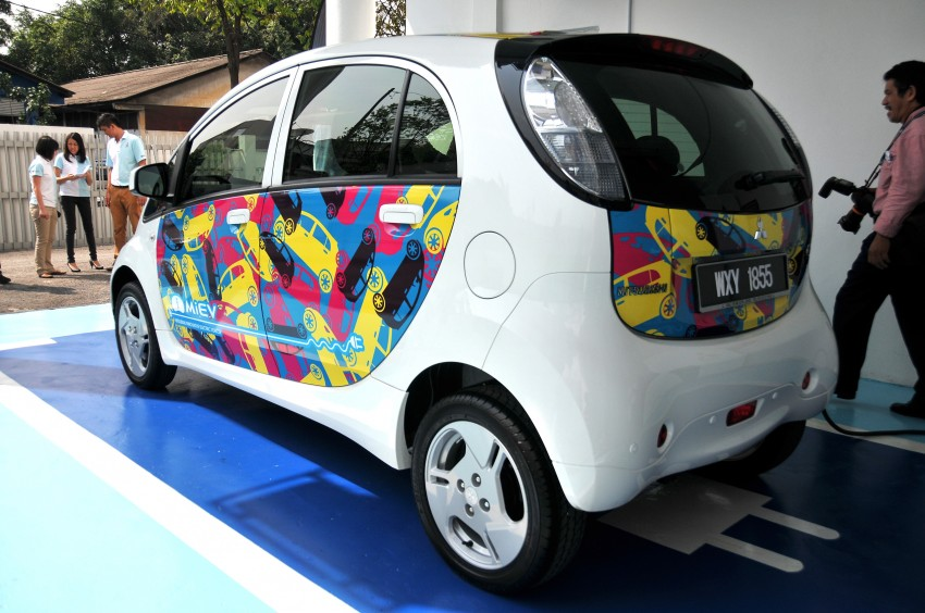 Mitsubishi i-MiEV launched in Malaysia for RM136k – the first all-electric vehicle to be sold in this country Image #162949