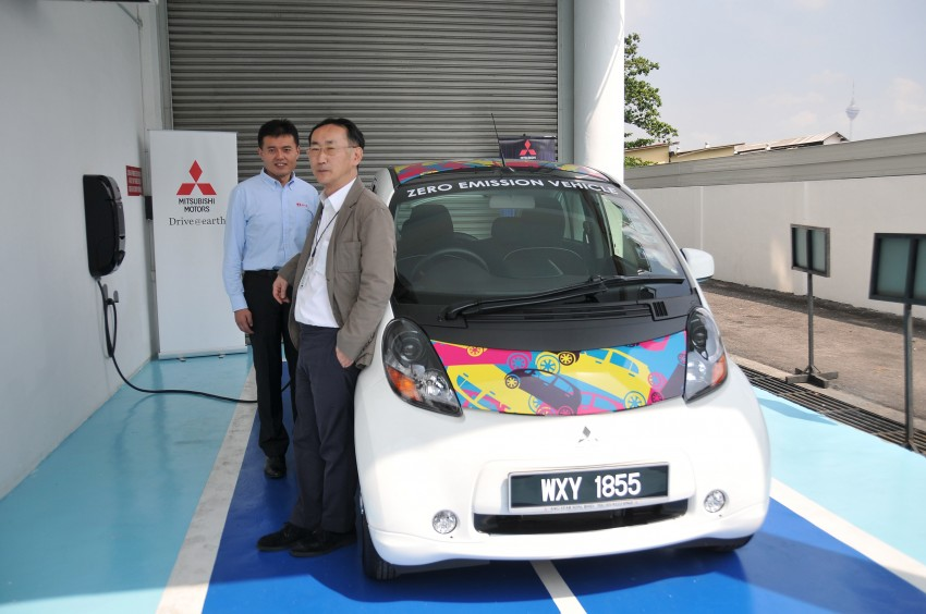 Mitsubishi i-MiEV launched in Malaysia for RM136k – the first all-electric vehicle to be sold in this country Image #162950