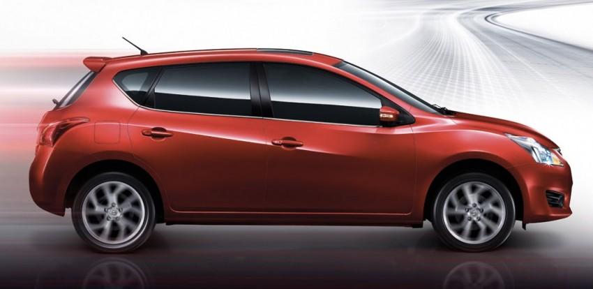 Nissan Pulsar five-door hatch launched in Thailand Image #161024