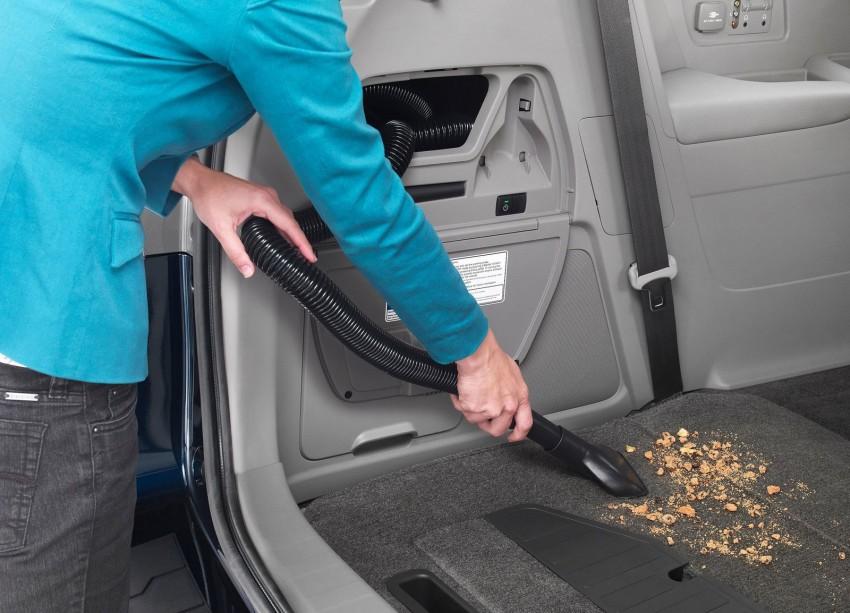 2014 Honda Odyssey Touring Elite minivan debuts new HondaVAC in-car vacuum cleaner Image #164381